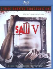 Saw V (Blu-ray, 2-Disc, Unrated Director's Cut)