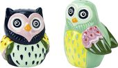 Artsy Owls - Salt & Pepper Shakers