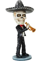Day of the Dead Bobblehead - Mariachi Trumpet