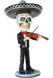 Day of the Dead Bobblehead - Mariachi Violinist