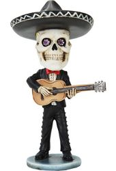 Day of the Dead Bobblehead - Mariachi Guitarist