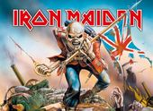 Iron Maiden - Trooper - Flag / Poster / Scarf