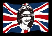 Sex Pistols - God Save The Queen: Flag / Poster /