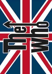 "The Who - UK: Flag / Poster / Scarf (30""x40"")"
