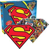 DC Comics - Superman - Logo & Collage 600pc