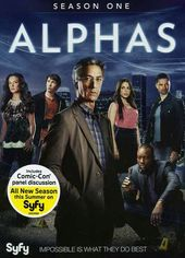 Alphas - Season 1 (3-DVD)
