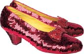 Wizard of Oz - Ruby Slippers - Greeting Card