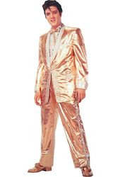 Elvis Presley - Gold Suit - Greeting Card