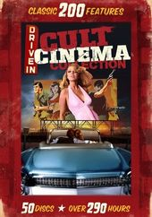 Drive-In Cult Cinema: 200-Film Collection (50-DVD)