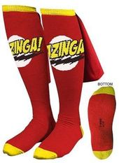 The Big Bang Theory - Bazinga! Caped - Socks