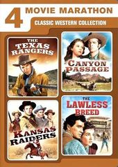 4 Movie Marathon: Classic Western Collection (The