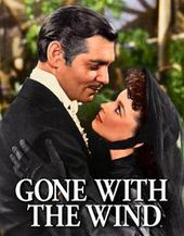 Gone With The Wind - Scarlet & Rhett - Tin Sign