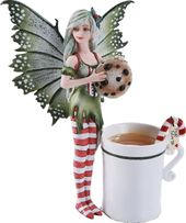Christmas Fairy - Figure With Cup