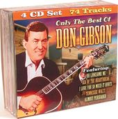 Only The Best of Don Gibson (4-CD)