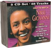 Only The Best of Nikki Giovanni (5-CD)