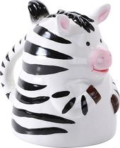 Zebra - Molded Ceramic Mug