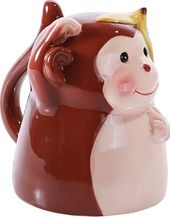 Monkey - Molded Ceramic Mug