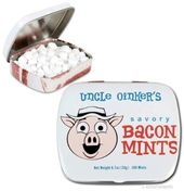 Uncle Oinker's Savory Bacon Mints (100-Mint Tin)