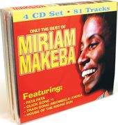 Only the Best of Miriam Makeba (4-CD Bundle Pack)