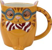 Smarty Cat - 18 oz. Earthenware Mug