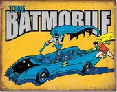 DC Comics - Batman - The Batmobile - Tin Sign