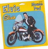 Elvis Presley - Motorcycle - Mouse Pad