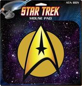 Star Trek - Command Insignia Mousepad
