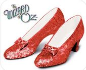 The Wizard of Oz - Ruby Slippers Mousepad