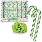Wasabi Candy Canes: Box of 6