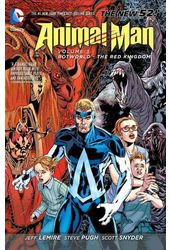 Animal Man 3: Rotworld: The Red Kingdom
