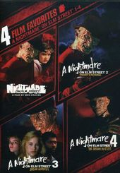 A Nightmare on Elm Street 1-4 (2-DVD)