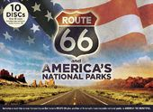 Route 66 and America's National Parks (9-DVD + CD)
