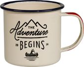 Adventure Begins - Enamel Mug