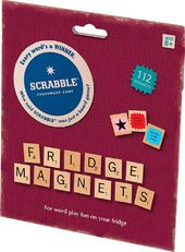 Scrabble - Fridge Magnets - 112 Piece Set