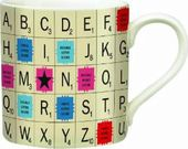 Scrabble - Alphabet Tile 13 oz. Ceramic Mug