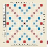 Scrabble - Game Board kitchen Towel