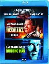 The Running Man / Red Heat (Blu-ray)
