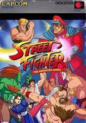 Street Fighter - Animated Series (4-DVD)