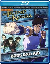 The Legend of Korra: Book One - Air (Blu-ray)