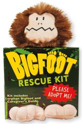 Bigfoot Rescue Kit - Plush Toy