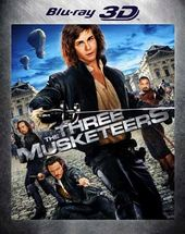 The Three Musketeers 3D (Blu-ray)