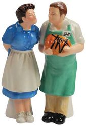 Brady Bunch - Alice & Sam Salt & Pepper Shakers