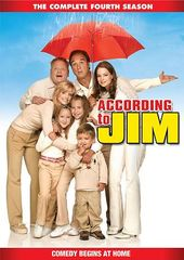 According to Jim - Season 4 (4-DVD)