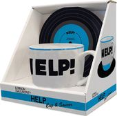 The Beatles - Help: 12 oz. Ceramic Mug and Saucer
