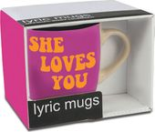 The Beatles - She Loves You: Lyric 12 oz. Ceramic