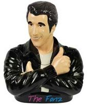 Happy Days - Fonzie - Ceramic Cookie Jar
