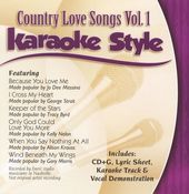 Karaoke Style: Country Love Songs, Volume 1