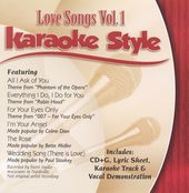 Karaoke Style: Love Songs, Volume 1