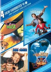 Jim Carrey Collection: 4 Film Favorites (The Mask