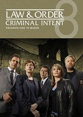 Law & Order: Criminal Intent - Year 8 (4-DVD)